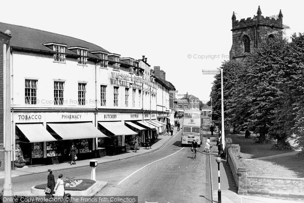 Cannock, Church Street c1955