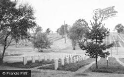 Cannock, German Military Cemetery c.1955