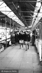Cannock, Market Day c.1965