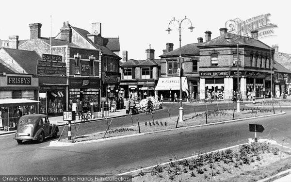 Cannock, Market Place c1955