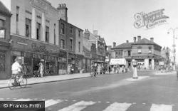 Cannock, Market Place c.1955