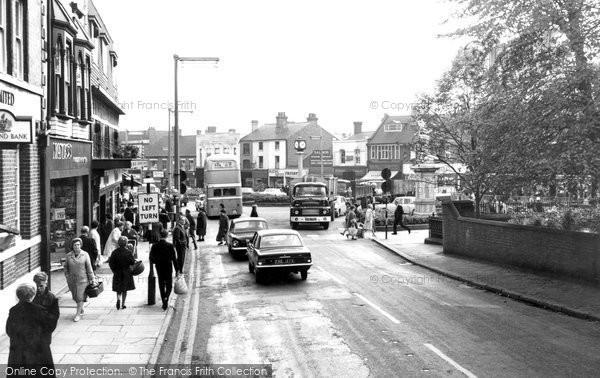 Cannock, Market Place c1965