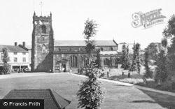 Cannock, Parish Church c.1955