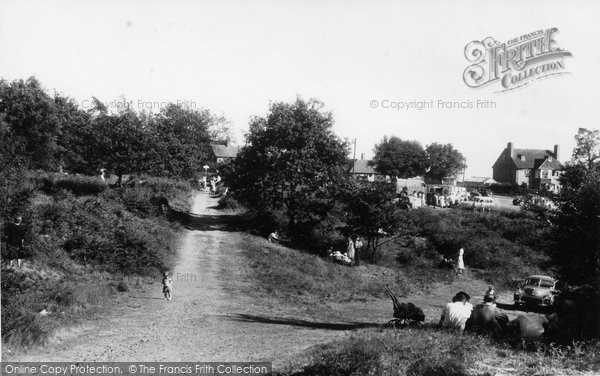 Photo of Cannock, Shoal Hill c.1960