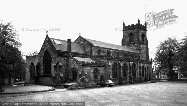Photo of Cannock, St Luke's Church c.1965