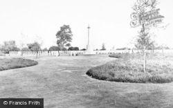 Cannock, The Cemetery c.1965