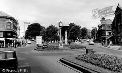 Cannock, The Clock Tower c.1965
