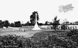 Cannock, The Commonwealth Cemetery c.1965