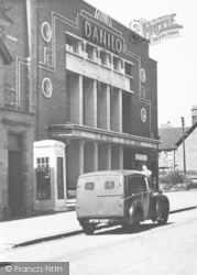 Cannock, The Danilo Cinema, High Green c.1955