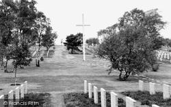 Cannock, The German Military Cemetery c.1965