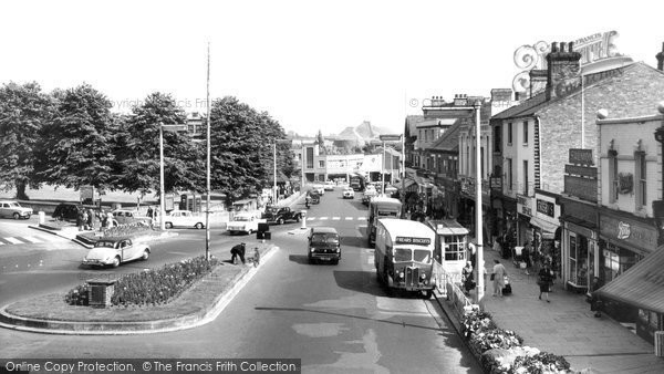 Photo of Cannock, The Square 1960