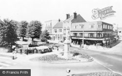 Cannock, The Square c.1960