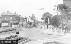 Cannock, Town Centre c.1955