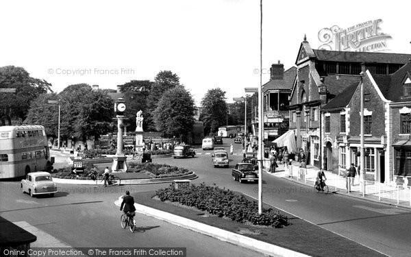 Cannock, Town Centre c1955