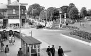 Cannock, Town Centre c1960