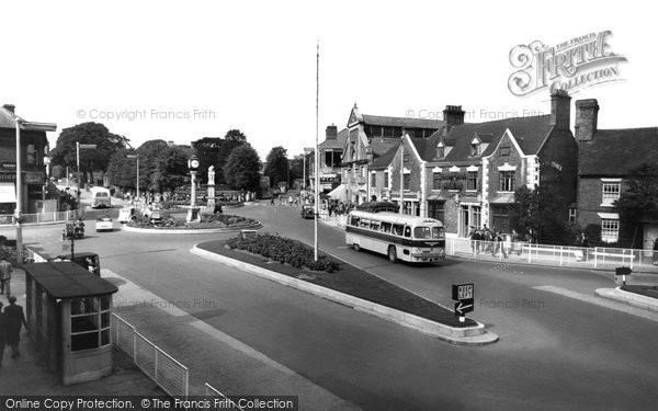 Photo of Cannock, Town Centre c.1960
