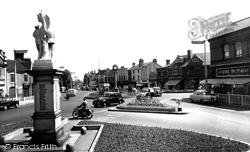 Cannock, Town Centre c.1960