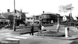 Cannock, Town Centre c.1965