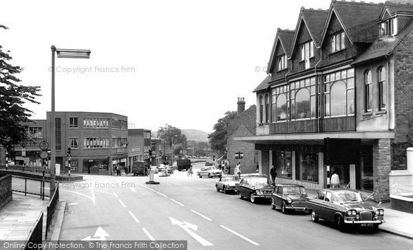 Photo of Cannock, Walsall Road c.1965