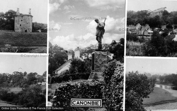 Photo of Canonbie, Composite c.1955