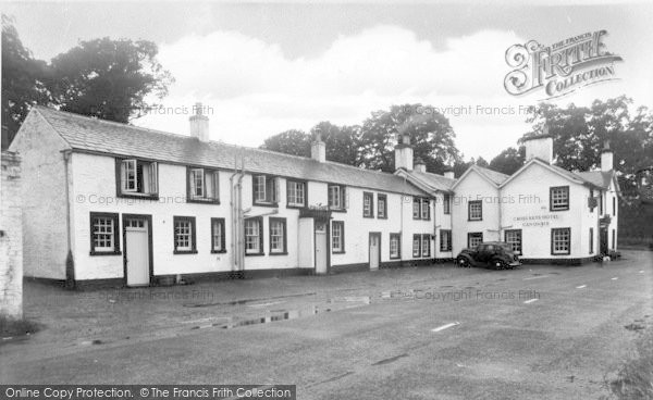 Photo of Canonbie, Cross Keys Hotel c.1955