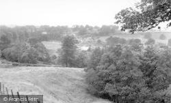 Canonbie, From Jock's Hill c.1965