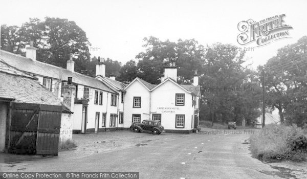 Photo of Canonbie, Main Street And Cross Keys Hotel c.1955