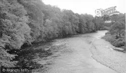 Canonbie, River Esk c.1955