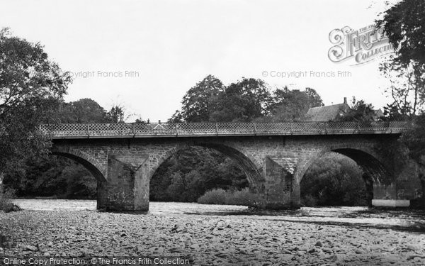 Photo of Canonbie, The Bridge And River Esk c.1955