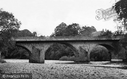 The Bridge And River Esk c.1955, Canonbie