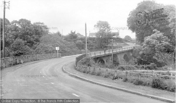 Photo of Canonbie, The Bridge c.1955