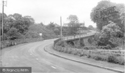 Canonbie, The Bridge c.1955