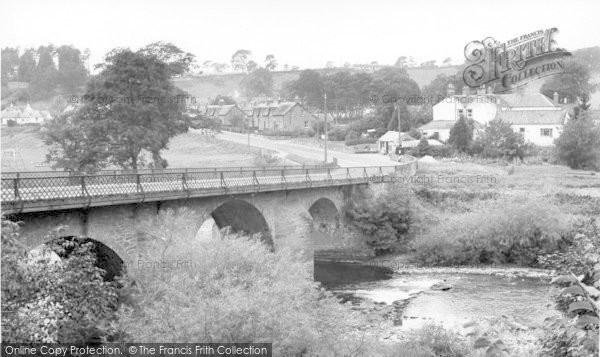 Photo of Canonbie, The Bridge c.1965