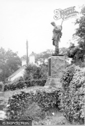 Canonbie, War Memorial c.1965
