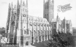 Canterbury, Cathedral 1888