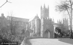Canterbury, Cathedral 1933