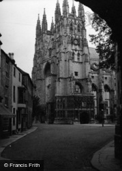 Canterbury, Cathedral 1954