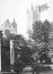 Canterbury, Cathedral, Bell Harry Tower 1890