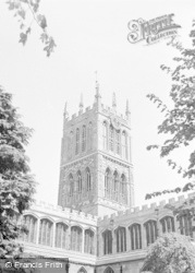 Canterbury, Cathedral c.1964