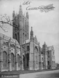 Canterbury, Cathedral, Central Tower, South Transept c.1867