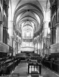 Cathedral, Choir East c.1862, Canterbury