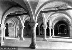 Cathedral, Crypt 1898, Canterbury