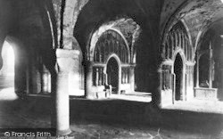 Canterbury, Cathedral Crypt, The Lady Chapel 1888