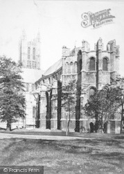Canterbury, Cathedral, East End c.1862