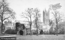 Canterbury, Cathedral From The North c.1872