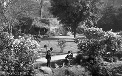 Canterbury, Cathedral Gardens c.1868