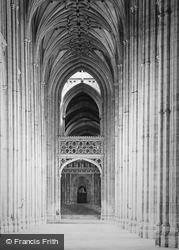 Canterbury, Cathedral, Looking East c.1879