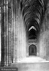 Cathedral, Nave East c.1862, Canterbury