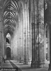 Canterbury, Cathedral, North Aisle Nave c.1862