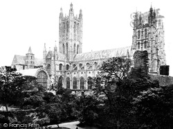 Canterbury, Cathedral, North Side c.1862